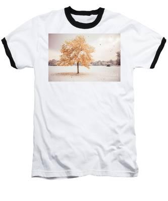 Still Dressed In Fall Baseball T-Shirt