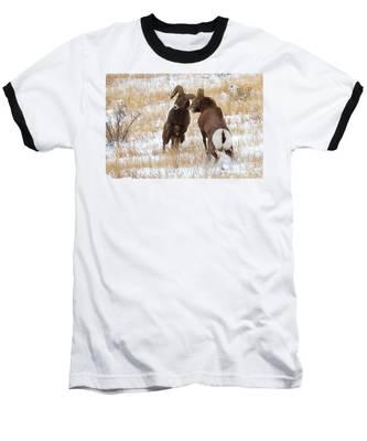 The Battle For Dominance Baseball T-Shirt