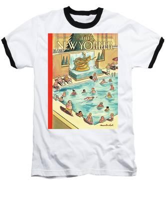 The Great Thaw Baseball T-Shirt