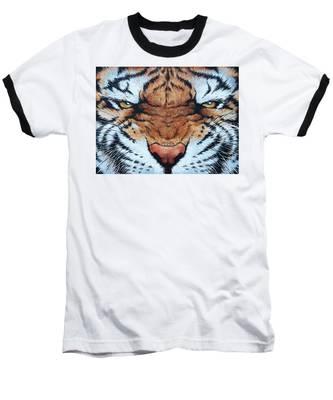 Tiger Eyes Baseball T-Shirt