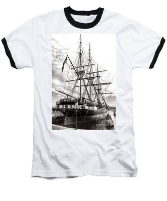 Uss Constellation Baseball T-Shirt