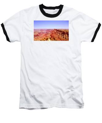 horizon in Grand Canyon Baseball T-Shirt