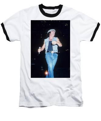 Brian Johnson Baseball T-Shirt by Rich Fuscia