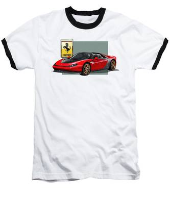 Ferrari Baseball T-Shirts