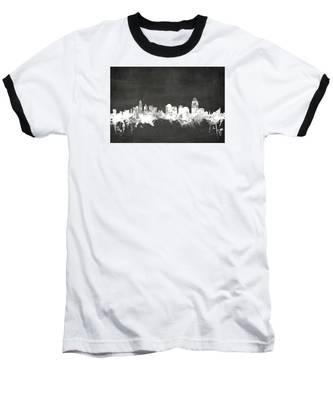 Cincinnati Ohio Skyline Baseball T-Shirt