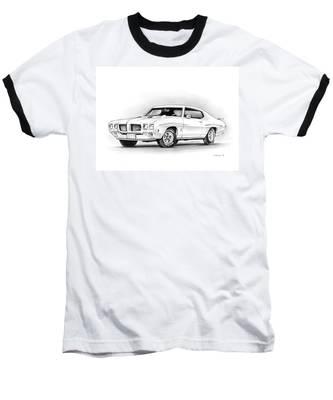 1970 Pontiac Gto Judge Baseball T-Shirt