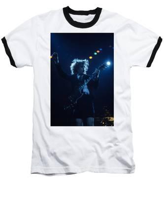 Angus Young Baseball T-Shirt by Rich Fuscia