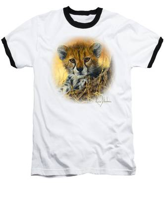 Baby Cheetah  Baseball T-Shirt