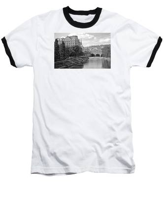 Bath On Avon By Mike Hope Baseball T-Shirt
