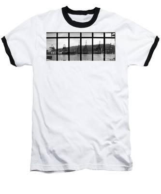 Charging Dock Of Barcelona Baseball T-Shirt