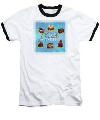 Chocolate Candies Baseball T-Shirt