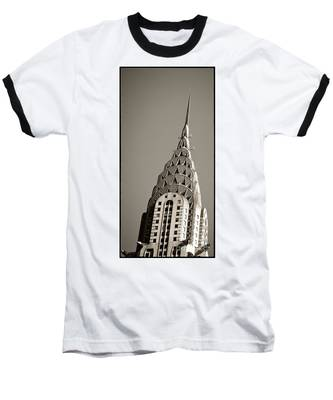 Baseball T-Shirt featuring the photograph Chrysler Building New York City by Juergen Held