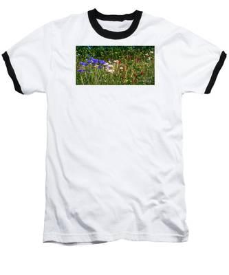 Country Wildflowers Iv Baseball T-Shirt