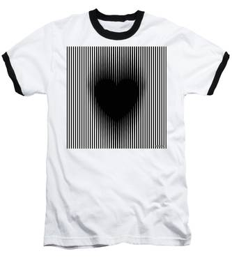 Expanding Heart Baseball T-Shirt