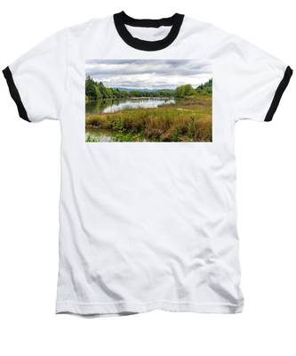 fort Clatsop on the Columbia River Baseball T-Shirt