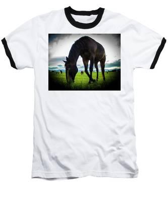 Horse Time Baseball T-Shirt