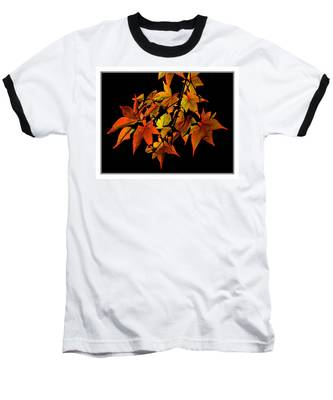 Japanese Maple Baseball T-Shirt