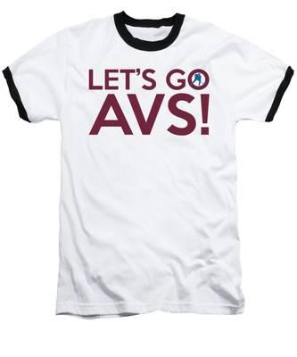 Let's Go Avs Baseball T-Shirt