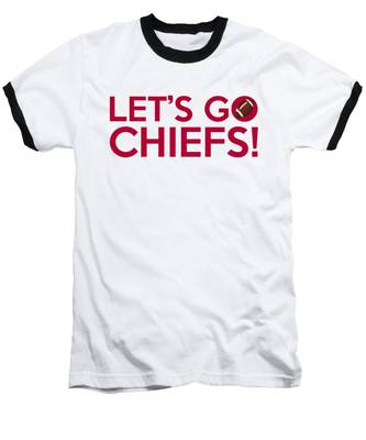 Let's Go Chiefs Baseball T-Shirt