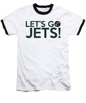 Let's Go Jets Baseball T-Shirt