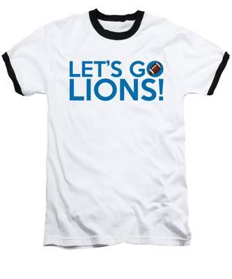 Let's Go Lions Baseball T-Shirt