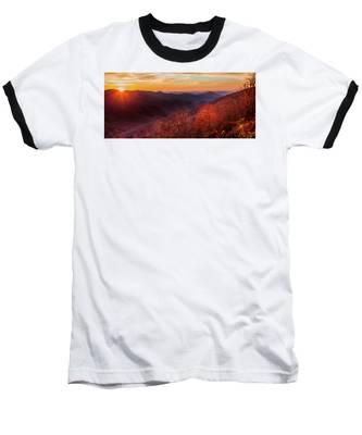 Melody Of Autumn Baseball T-Shirt