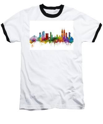 Mumbai Skyline India Bombay Baseball T-Shirt