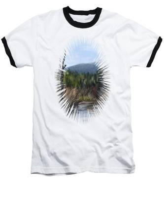 Stream Baseball T-Shirt
