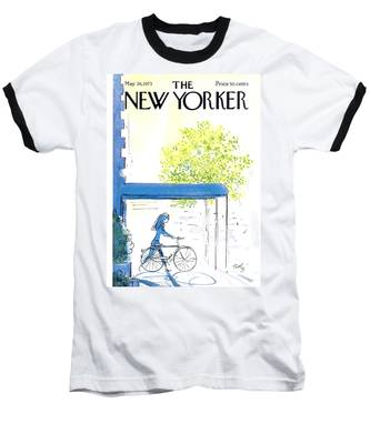 The New Yorker Cover - May 26th, 1973 Baseball T-Shirt