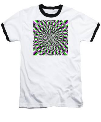 Self-moving Unspiral Baseball T-Shirt