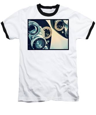 Baseball T-Shirt featuring the photograph Which Is Better 1 Or 2? by Andrea Platt