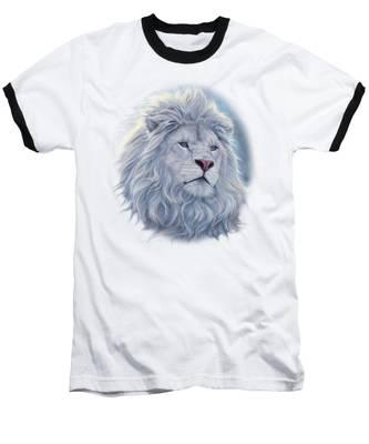 White Lion Baseball T-Shirt