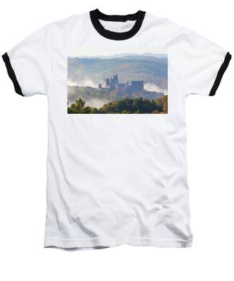 Chateau Beynac In The Mist Baseball T-Shirt