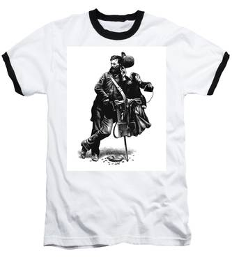 Organ Grinder Baseball T-Shirt
