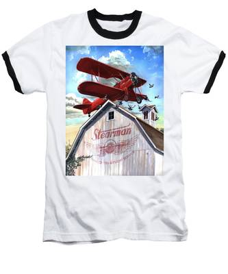 Barn Stormer - Customizeable Baseball T-Shirt