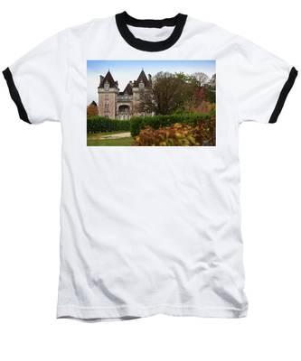 Chateau, Near Beynac, France Baseball T-Shirt