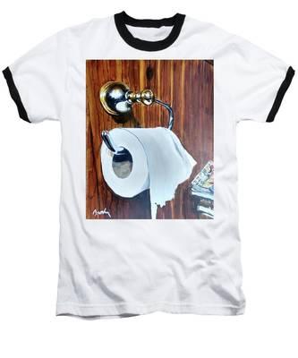 Duchamp's Paperwork Baseball T-Shirt