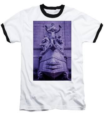 Pigeon Placement Baseball T-Shirt