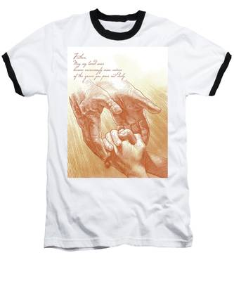 Prayer Baseball T-Shirt
