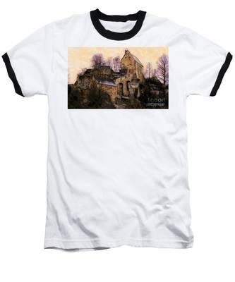 Ruined Castle Baseball T-Shirt