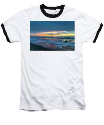 Sunset Fire Over Catalina Island 2 Baseball T-Shirt