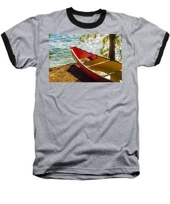 Kayak By The Water Baseball T-Shirt