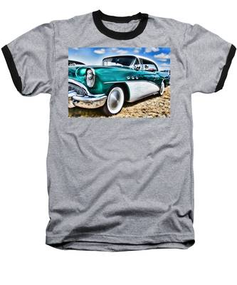 1955 Buick Baseball T-Shirt
