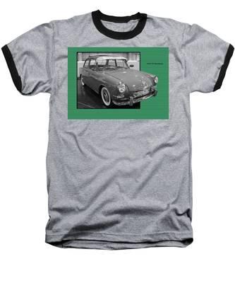 1965 Vw Notchback Baseball T-Shirt
