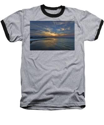 a joyful sunset at Tel Aviv port Baseball T-Shirt
