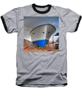 a resting boat in Jaffa port Baseball T-Shirt