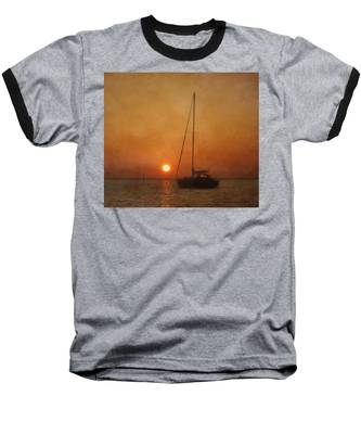A Ship In The Night Baseball T-Shirt