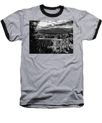 Alder Dam Near Mt Rainer Wa Baseball T-Shirt