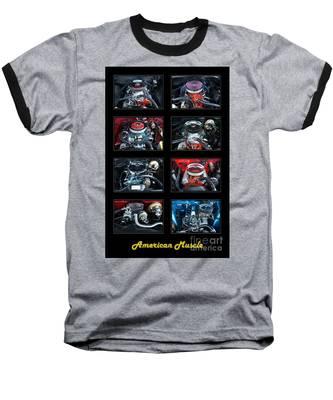 American Muscle Baseball T-Shirt