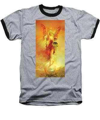 Angel Of Abundance - Fortuna Baseball T-Shirt